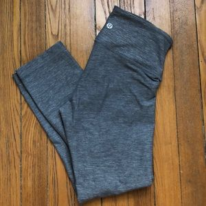 Lululemon Grey Crop Legging